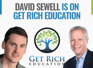 David Sewell está en Get Rich Education