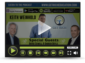 David Sewell and Darren Doyle on Get Rich Education