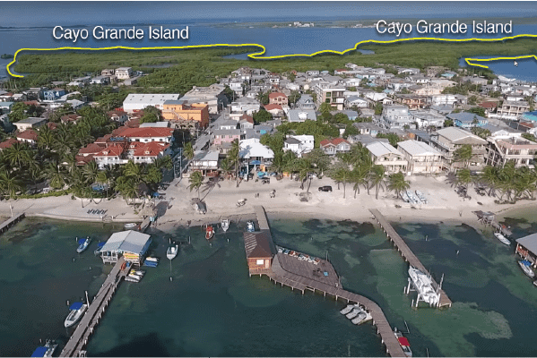 APPROVAL TO SUBDIVIDE CAYO GRANDE ISLAND – BELIZE