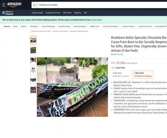 Barra Brukdown disponible en Amazon